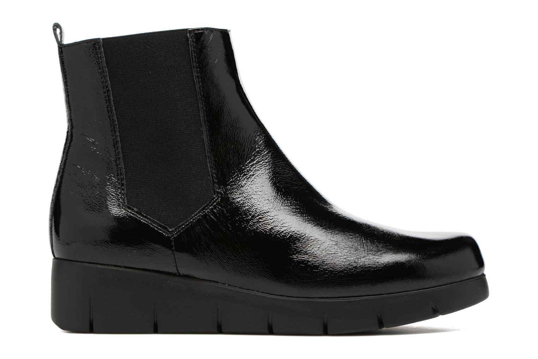 Bottines et boots Unisa Flora Noir vue derrière
