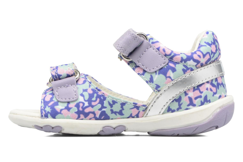 Sandales et nu-pieds Geox B SANDAL NICELY A Multicolore vue face