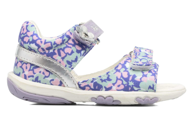 Sandales et nu-pieds Geox B SANDAL NICELY A Multicolore vue derrière