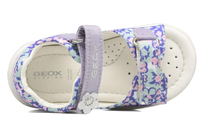 Sandales et nu-pieds Geox B SANDAL NICELY A Multicolore vue gauche