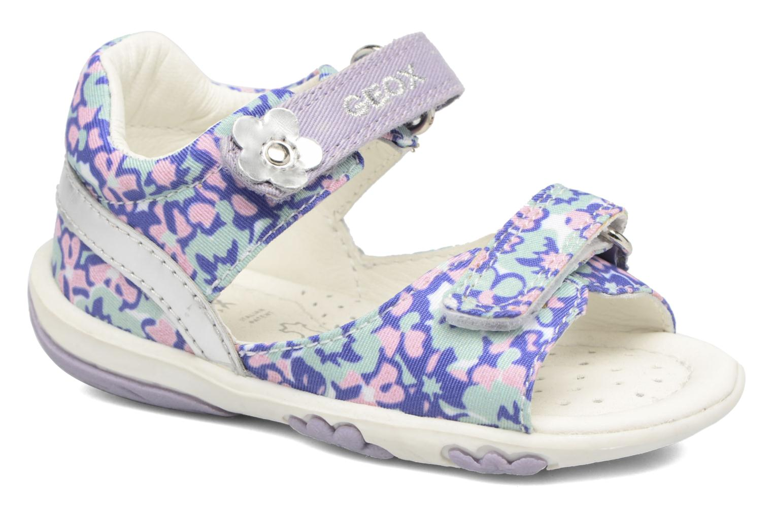 B SANDAL NICELY A White/lilac