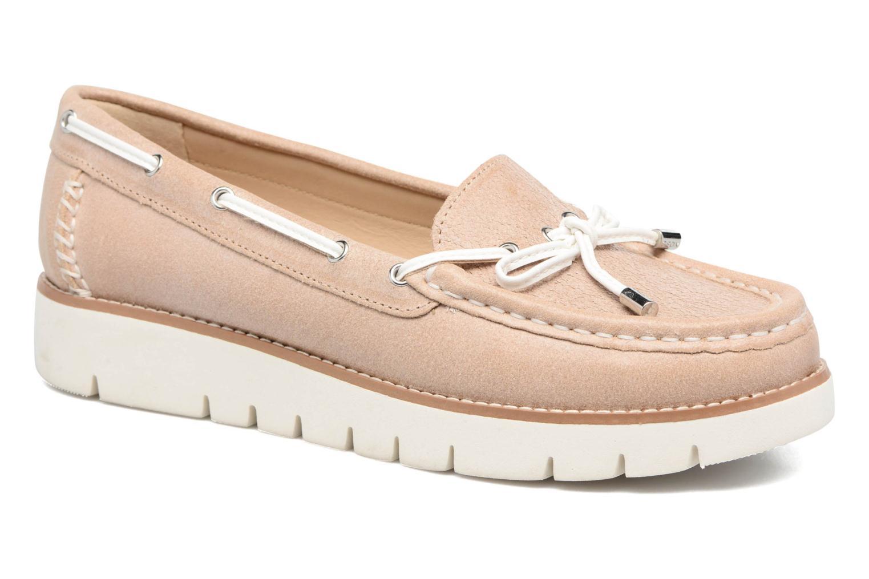 Geox D BLENDA D (Rose) - Chaussures à lacets chez Sarenza (299206)