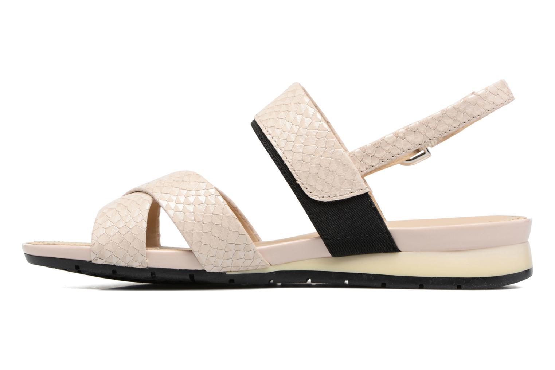 Sandales et nu-pieds Geox D FORMOSA B II Beige vue face