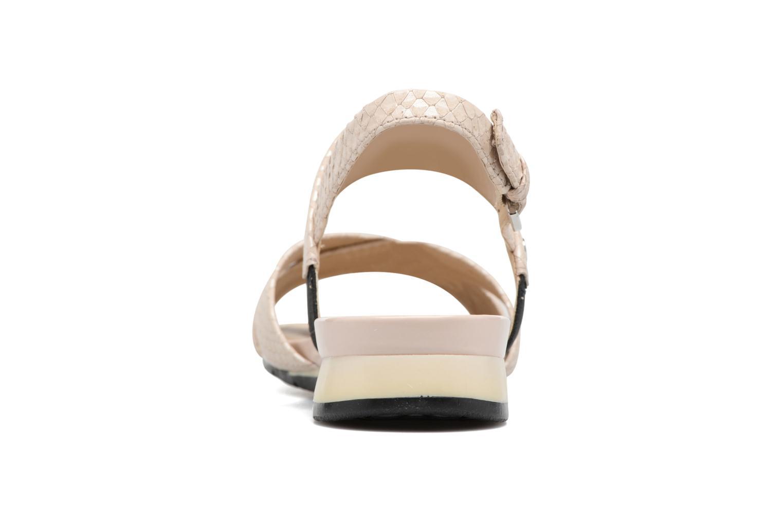 Sandales et nu-pieds Geox D FORMOSA B II Beige vue droite