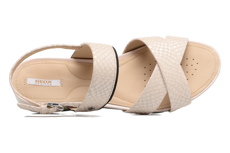 Sandales et nu-pieds Geox D FORMOSA B II Beige vue gauche