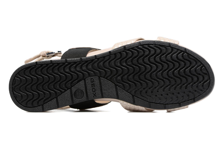 Sandales et nu-pieds Geox D FORMOSA B II Beige vue haut