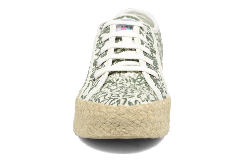 Espadrilles Geox D HIDENCE V A Vert vue portées chaussures