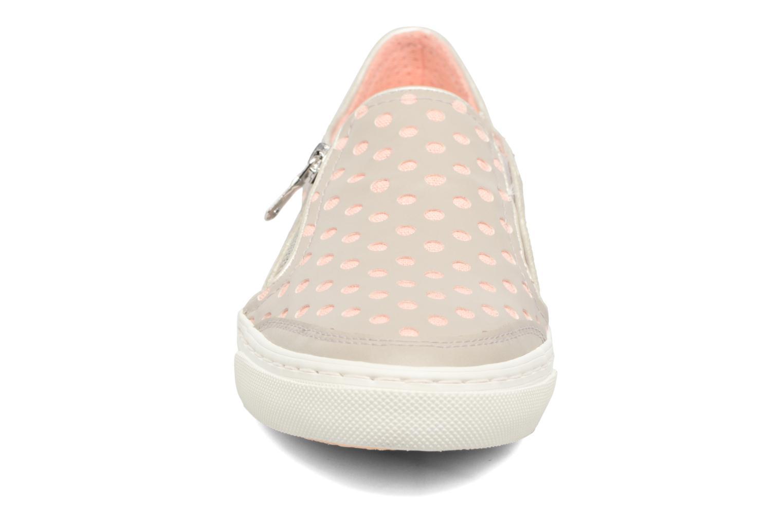 Sneakers Geox D NEW CLUB A II Grigio modello indossato