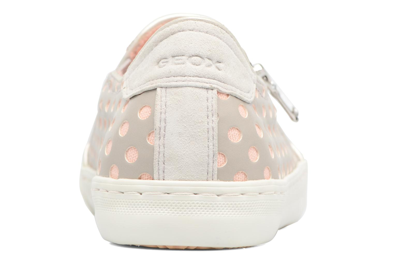 Sneakers Geox D NEW CLUB A II Grigio immagine destra