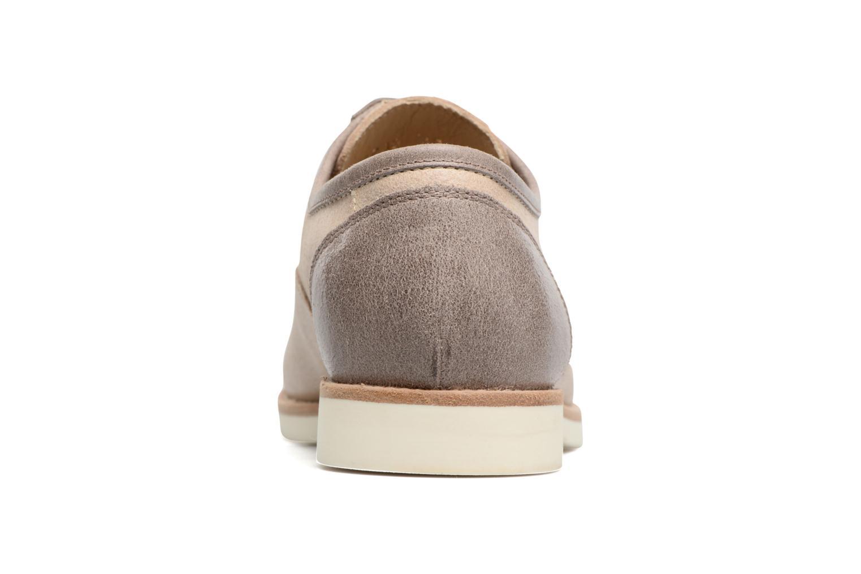 Zapatos con cordones Geox D PROMETHEA B Beige vista lateral derecha