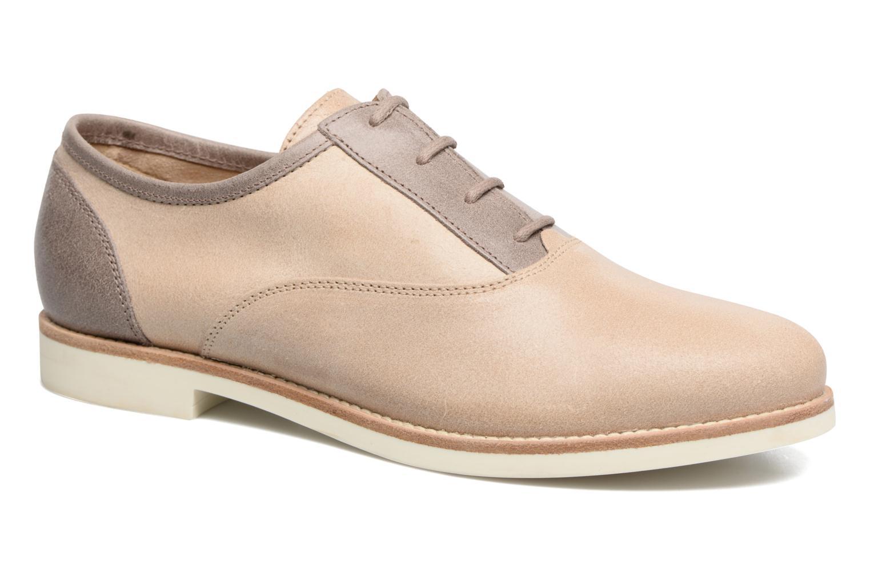 Chaussures à lacets Geox D PROMETHEA B Beige vue détail/paire
