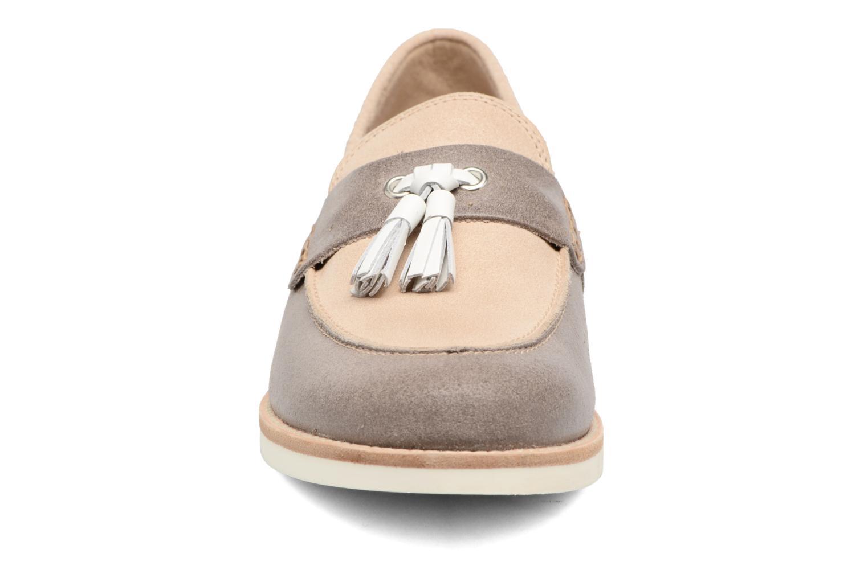 Mocassins Geox D PROMETHEA C Beige vue portées chaussures