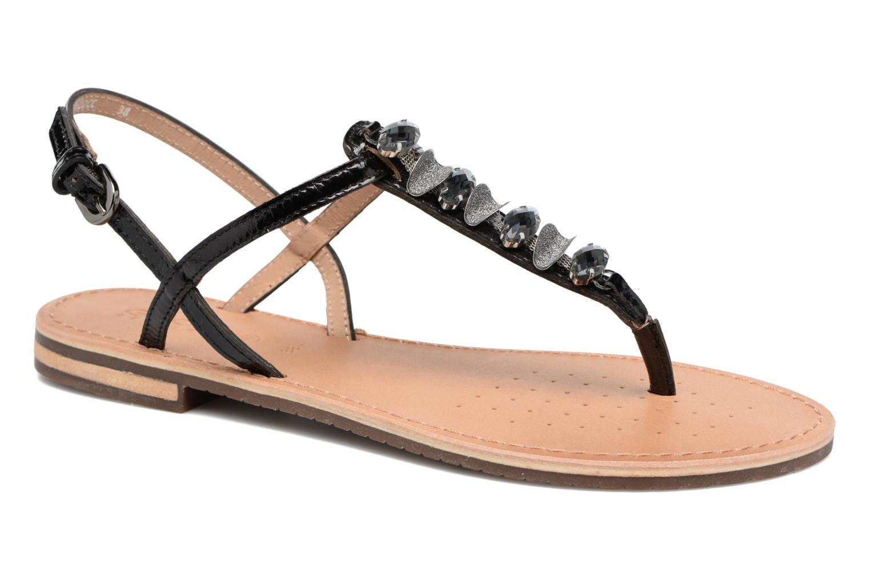 Sandales et nu-pieds Geox D SOZY C Noir vue détail/paire