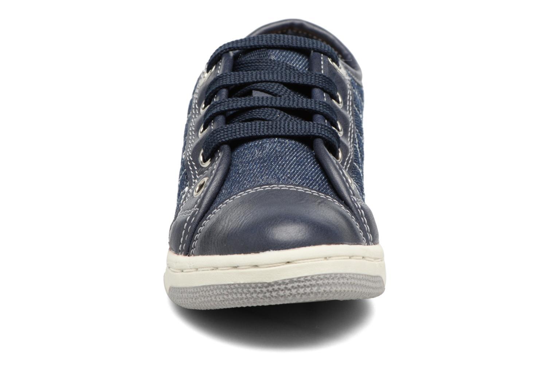Baskets Geox JR CREAMY D II Bleu vue portées chaussures