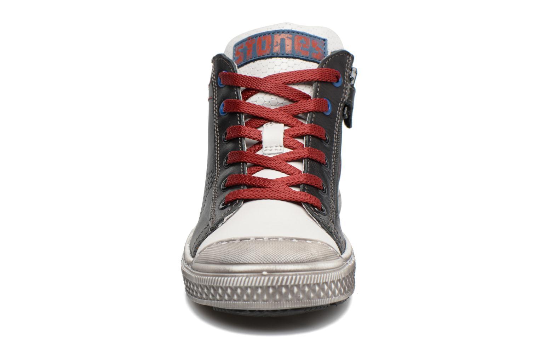 Baskets Stones and Bones Lukin Bleu vue portées chaussures