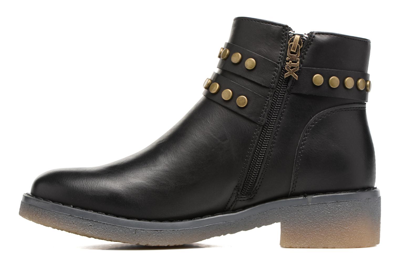Bottines et boots Xti Teki Noir vue face