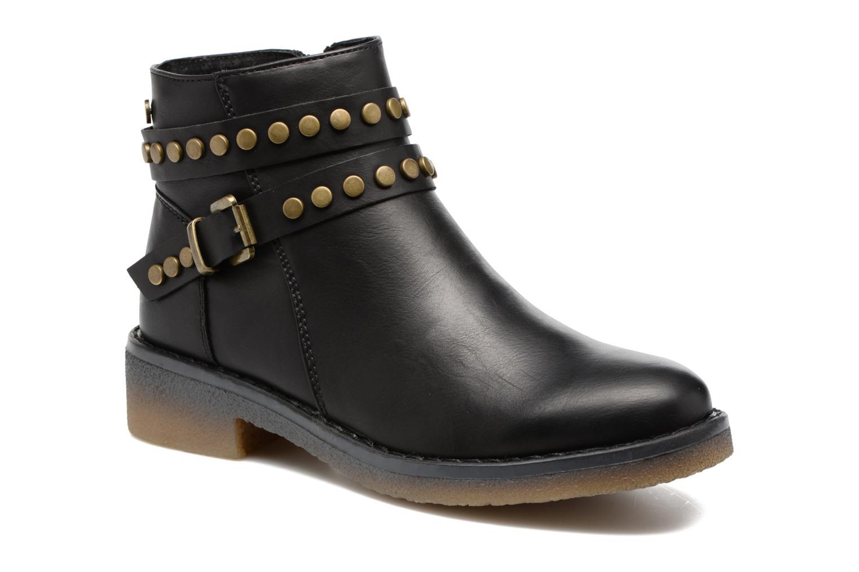 Ankle boots Xti Teki Black detailed view/ Pair view