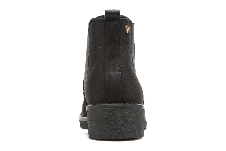 Bottines et boots Xti Pohie Noir vue derrière