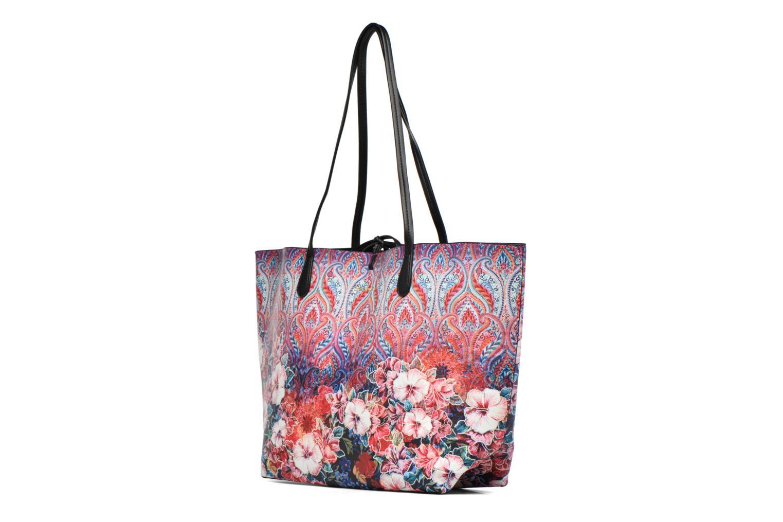 Sacs à main Desigual Capri Freya Shopping bag Multicolore vue portées chaussures