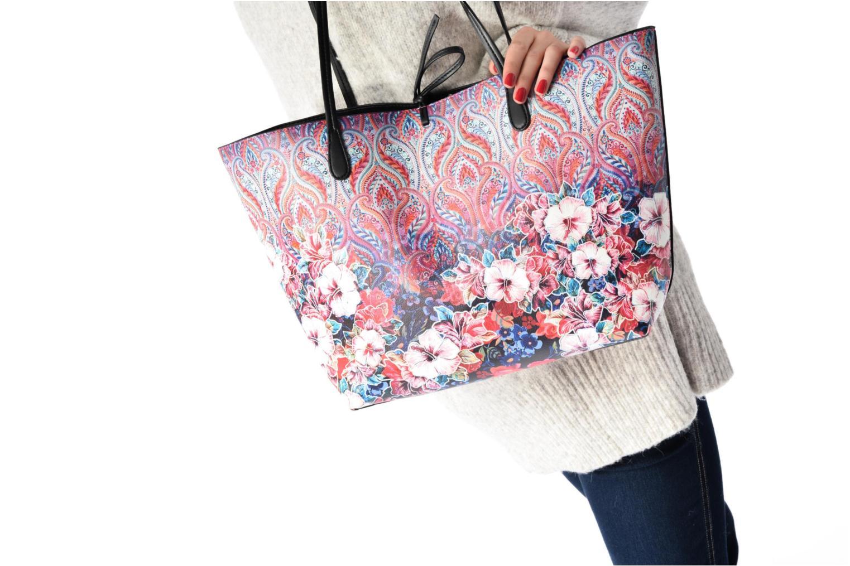 Sacs à main Desigual Capri Freya Shopping bag Multicolore vue haut