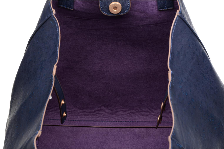 Sacs à main Desigual Cuenca Metal Splatter Shopping bag Bleu vue derrière