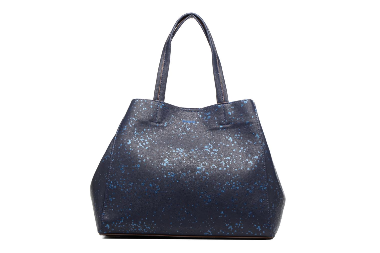 Sacs à main Desigual Cuenca Metal Splatter Shopping bag Bleu vue détail/paire