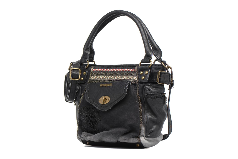 Sacs à main Desigual Mcbee Mini Blackout Handbag Noir vue portées chaussures