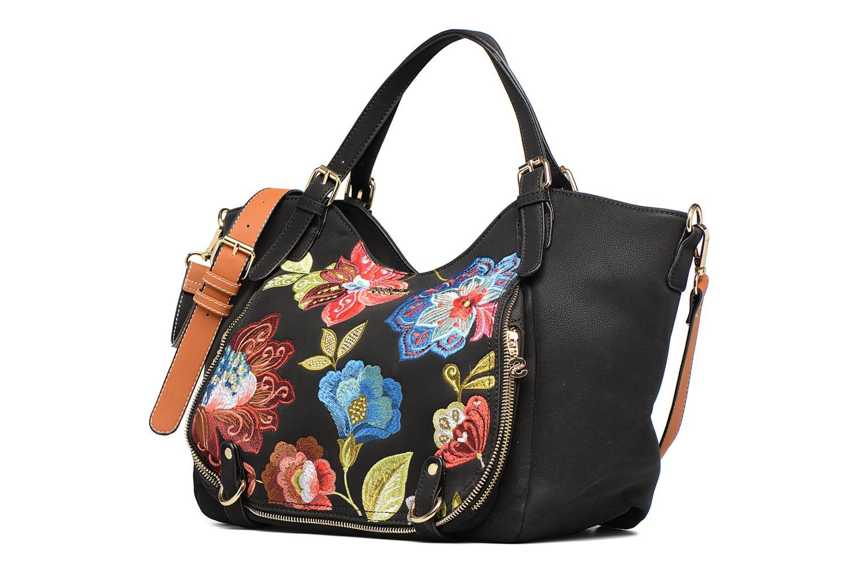Borse Desigual Rotterdam Caribu Handbag Multicolore modello indossato