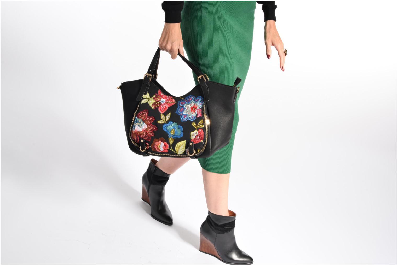 Sacs à main Desigual Rotterdam Caribu Handbag Multicolore vue haut