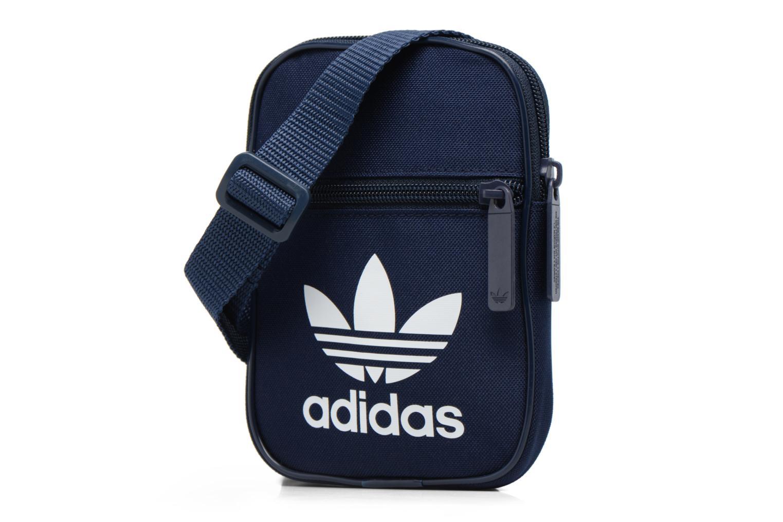 Petite Maroquinerie Adidas Originals FESTVL B Trefoil Bleu vue portées chaussures