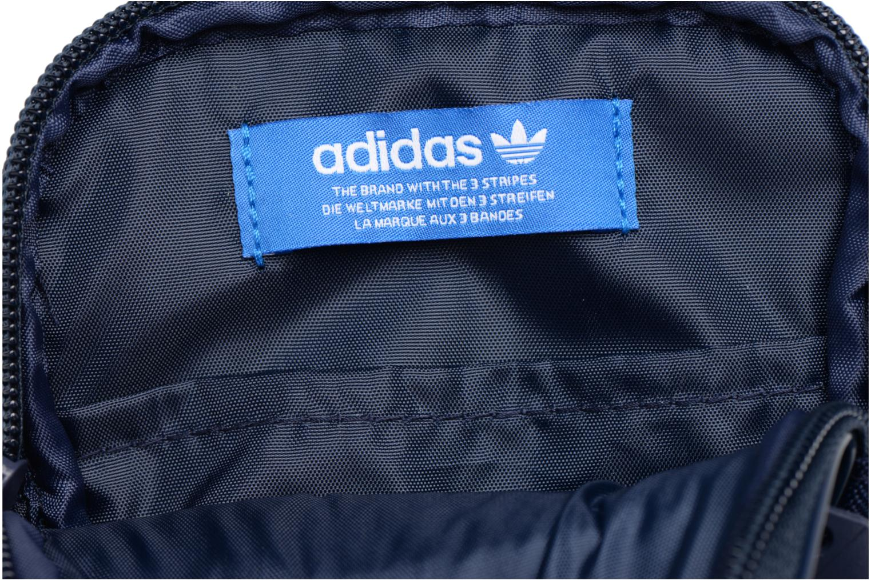 Petite Maroquinerie Adidas Originals FESTVL B Trefoil Bleu vue derrière