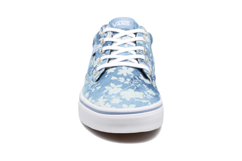 Baskets Vans Winston W Bleu vue portées chaussures