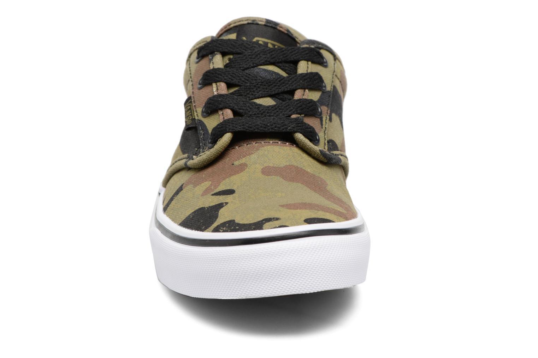 Baskets Vans Atwood Vert vue portées chaussures