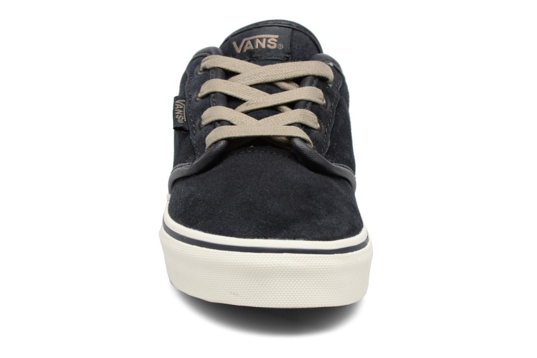 Baskets Vans Atwood Bleu vue portées chaussures