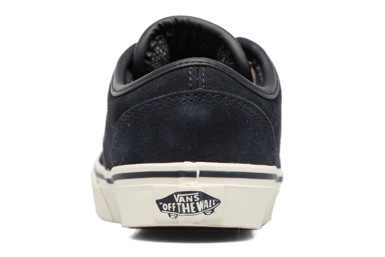 Baskets Vans Atwood Bleu vue droite
