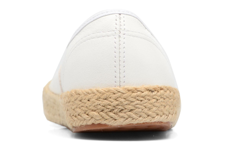 Baskets Vans Authentic Espadri Blanc vue droite