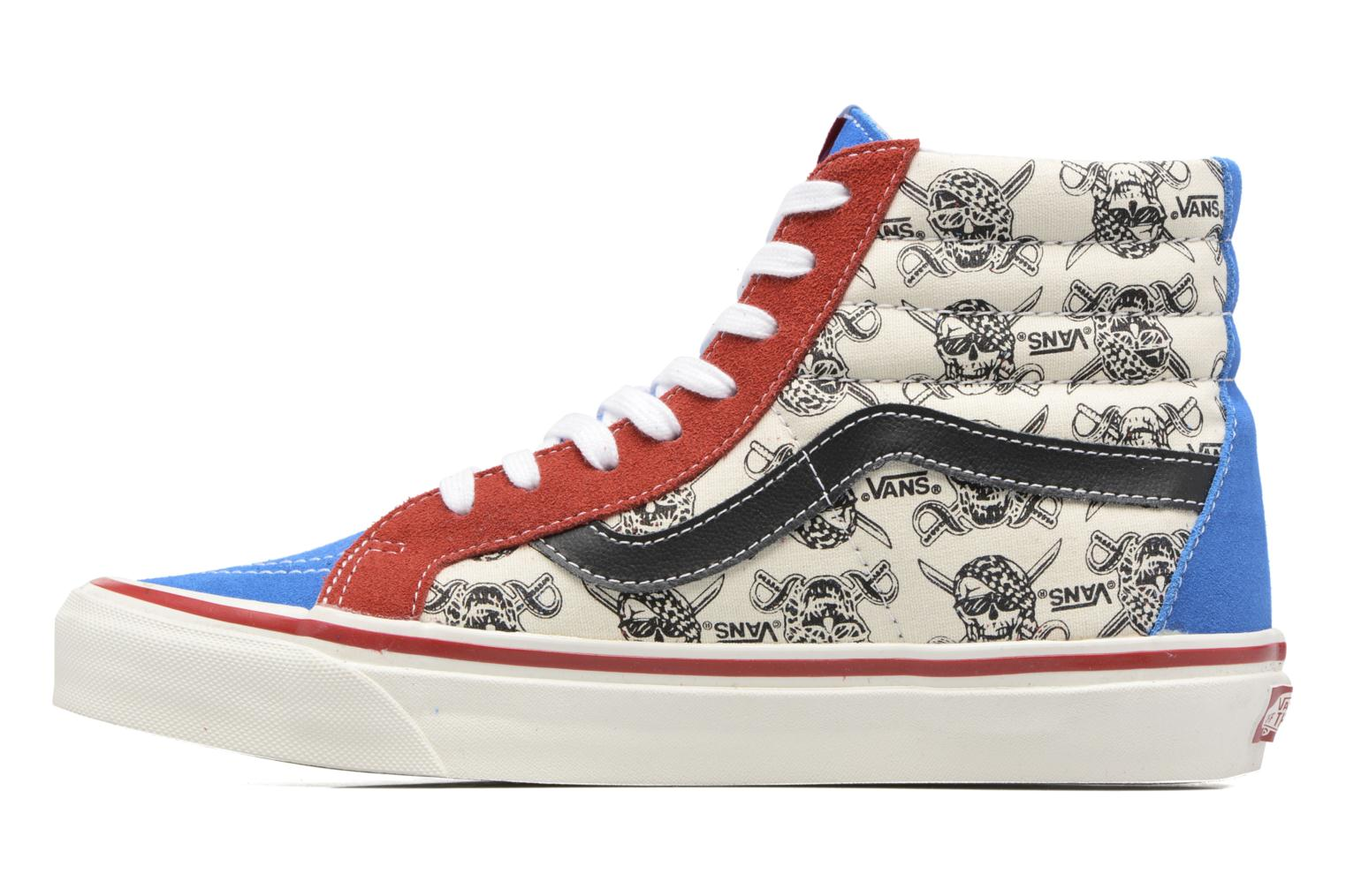 Baskets Vans SK8-HI 38 Reissue Multicolore vue face