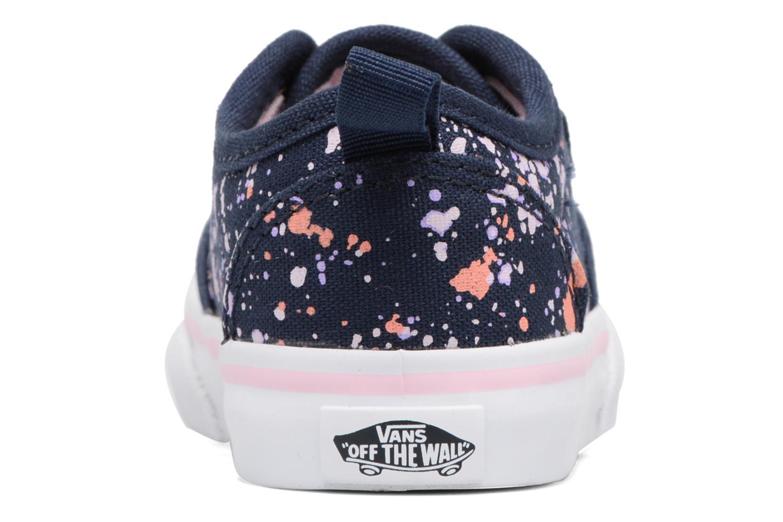 Baskets Vans Atwood Slip-On Bleu vue droite