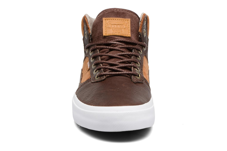 Baskets Vans Beford Marron vue portées chaussures