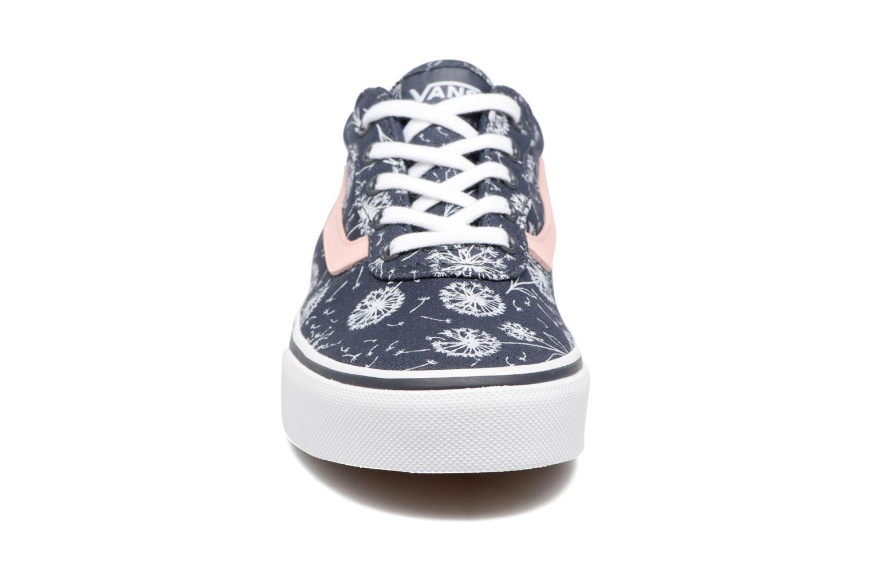 Baskets Vans Y Milton F Bleu vue portées chaussures