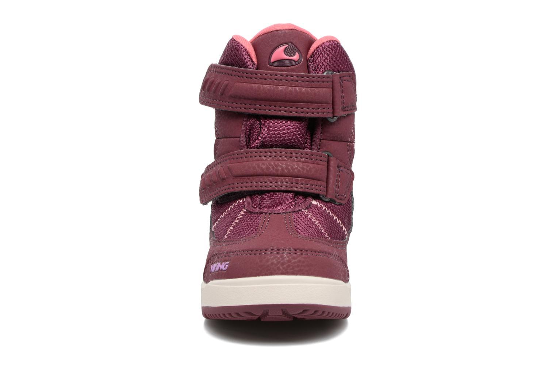 Chaussures de sport Viking Toasty II GTX Violet vue portées chaussures