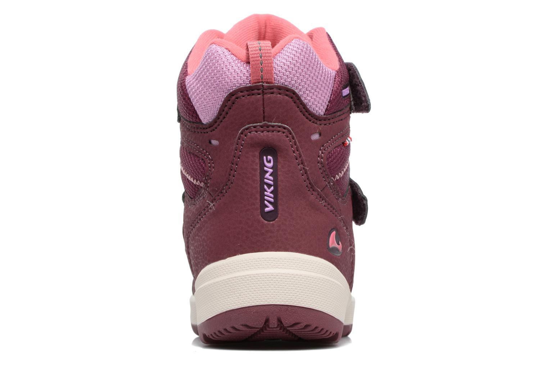 Chaussures de sport Viking Toasty II GTX Violet vue droite