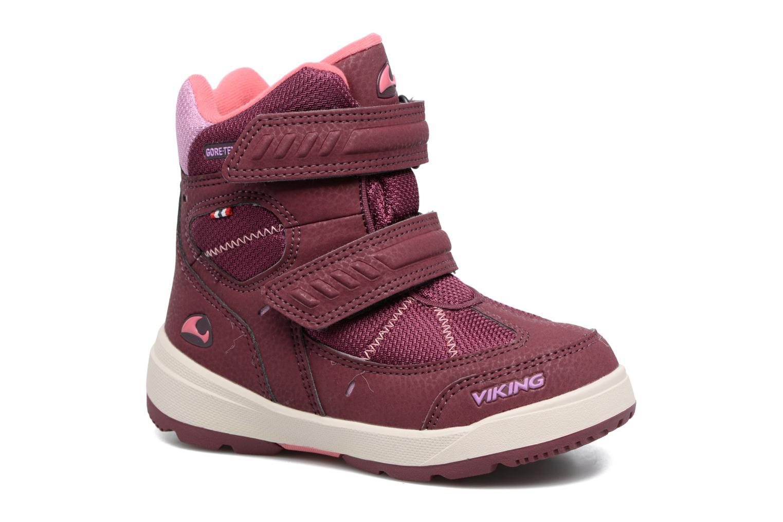 Chaussures de sport Viking Toasty II GTX Violet vue détail/paire