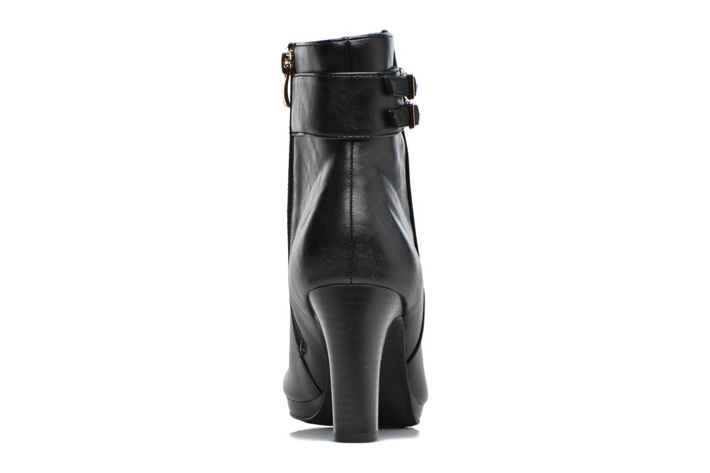 Bottines et boots Divine Factory Setna Noir vue droite