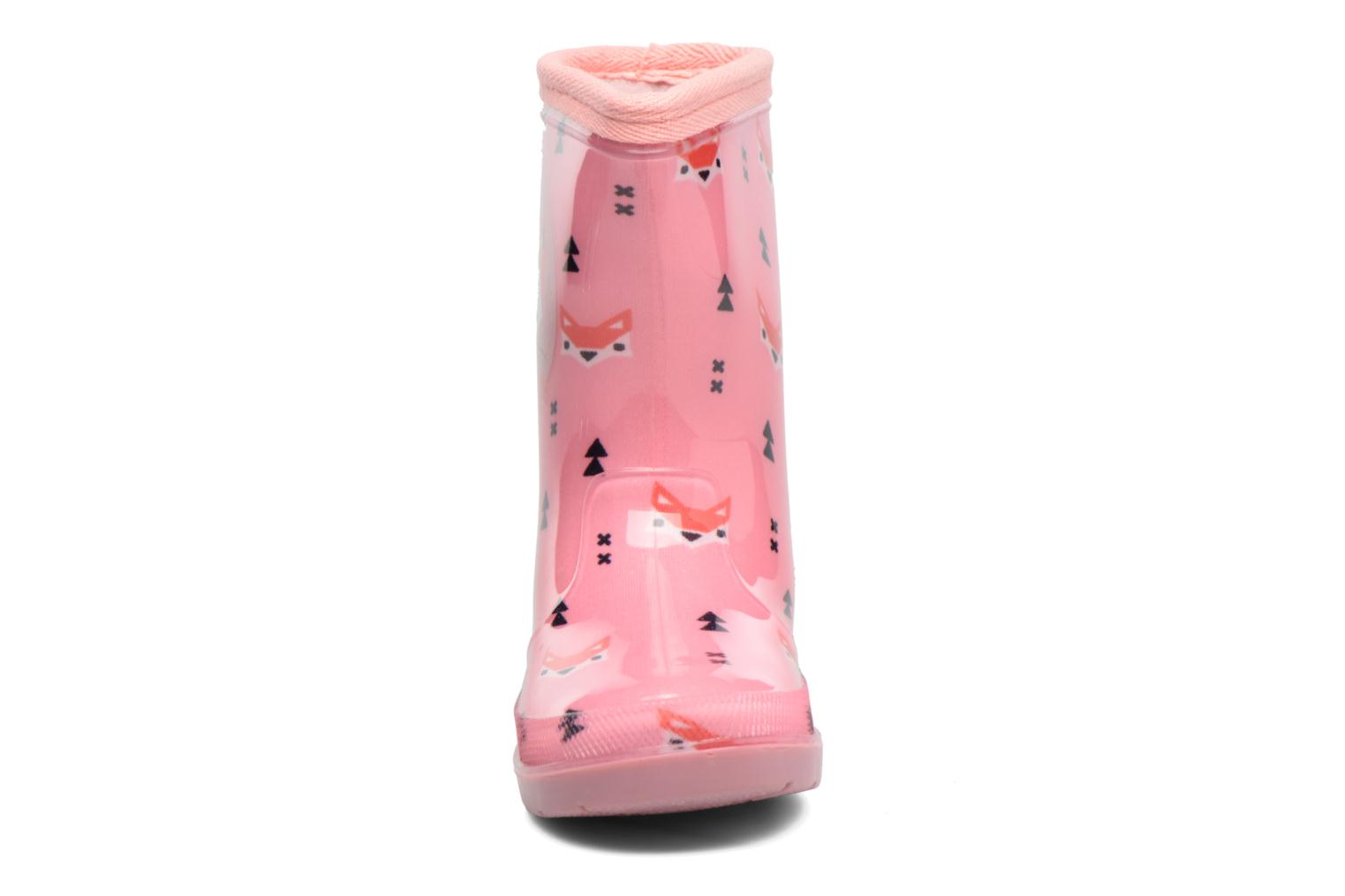 Bottes Be Only Anouk Rose vue portées chaussures