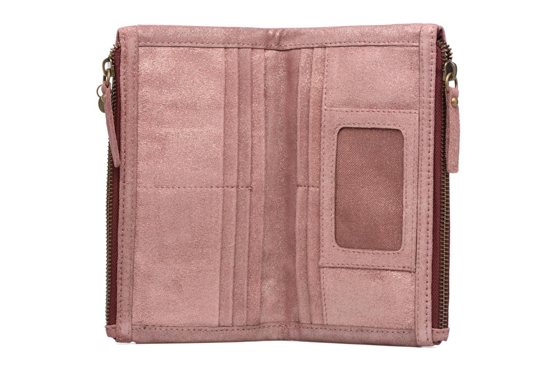 Petite Maroquinerie Esprit Venus Leather Wallet Rose vue derrière