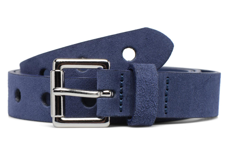 Ceintures Esprit Hole Detail Leather Belt 25mm Bleu vue détail/paire