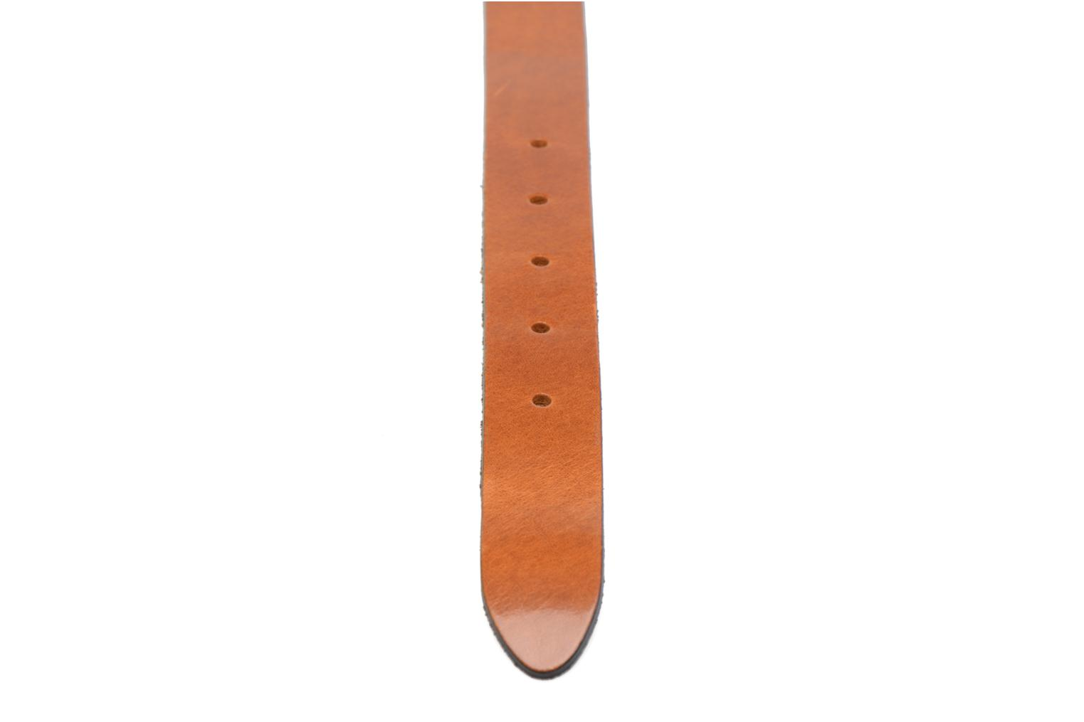 Ceintures Esprit Vintage Leather Belt 30mm Marron vue face
