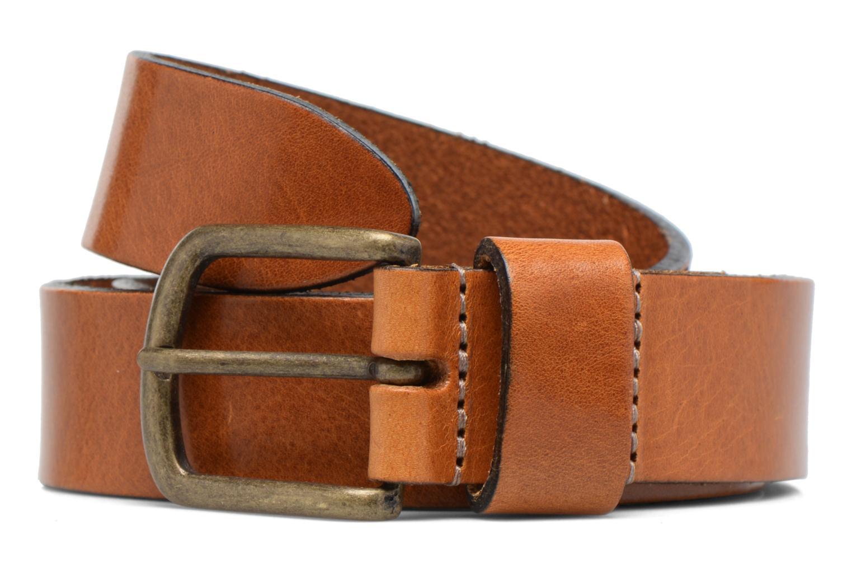 Vintage Leather Belt 30mm Rust Brown