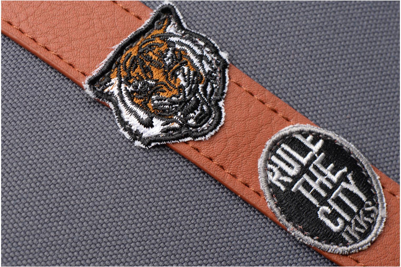 Scolaire IKKS Cartable 38cm Black Tiger Gris vue gauche